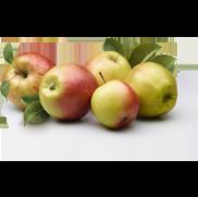 Saftiga grönsaker och<br>mustiga äpplen