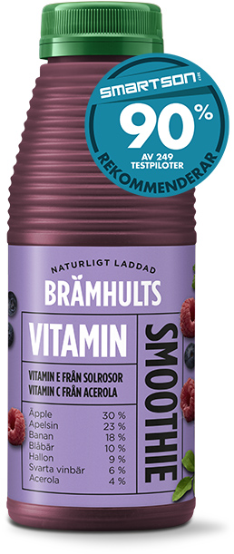 Vitaminsmoothie med smak av friska bär