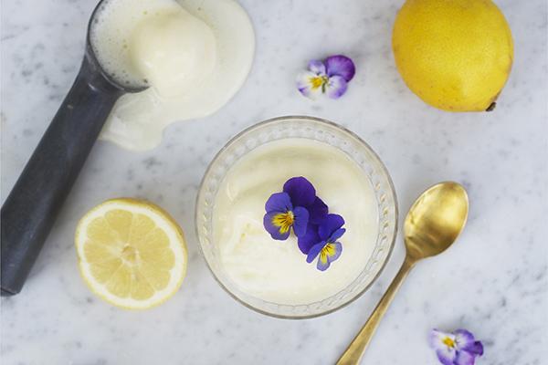 Lemonadsorbet