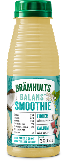Smoothie Balans med smak av kokos och fläder